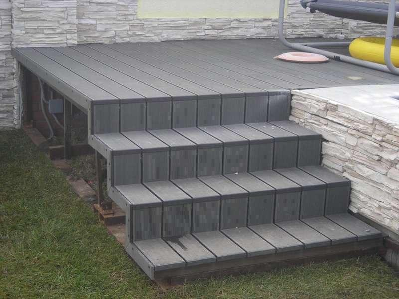 Decking mall for 6 metre lengths of decking